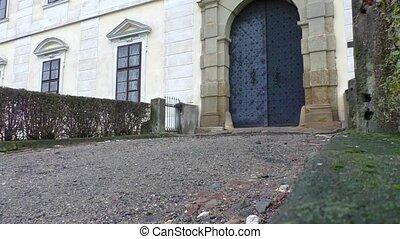Detail of castle in Czech Republic