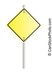 Yellow Sign