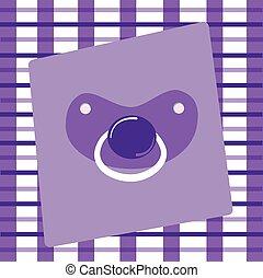 Purple Pacifier