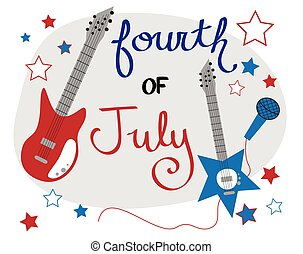 4th of July Rockstar