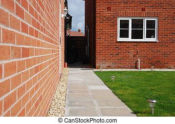 Back yard garden architecture - beautiful back yard garden...