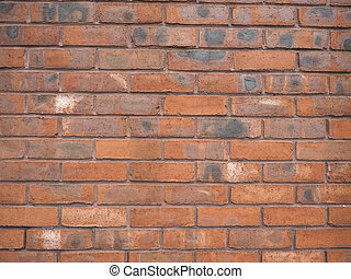 Red brick wall background - Red brick wall useful as a...