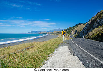 Kaikoura in New Zealand.