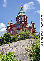 Uspenski Cathedral - Eastern Orthodox cathedral Uspenskin in...
