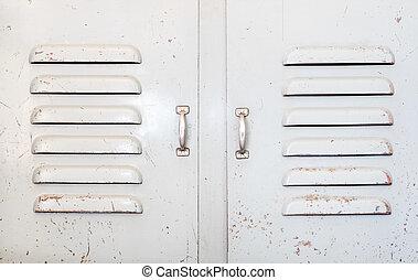 grunge industry metal door,rustic texture background