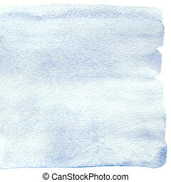 Serenity watercolor background