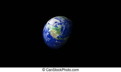 4K Earth Zoom: Jacksonville %u2013 USA
