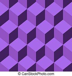 Seamless pattern vector cube art - Abstract Seamless pattern...
