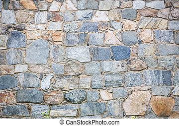 pared, albañilería, piedra