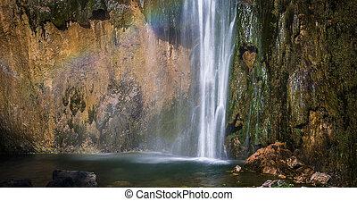 Big Waterfall, - Big Waterfall