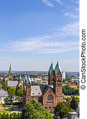 View on the Church of the Redeemer is an Evangelical church...