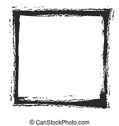 Grunge frame, vecto