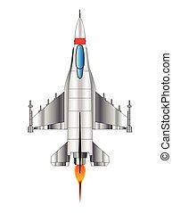 Modern Jet Fighter Plane