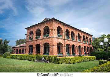 Fort Santo Domingo, Tamsui,Taipei , Taiwan.
