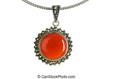 Pendant isolated on the white background