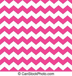 Tile vector pink zig zag pattern - Tile vector pattern with...