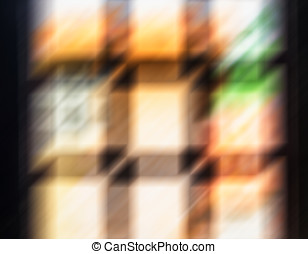 Wooden window abstraction