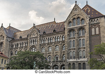 National Archives of Hungary building, Budapest