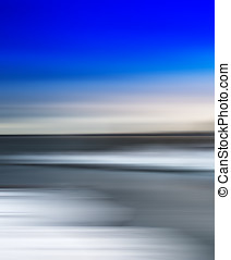 Vertical vivid simple arctic abstract blurred landscape...