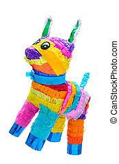 piñata, burro, mexicano, fiesta