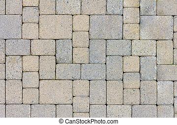 Garden Patio Stone Pavers Top View - Garden Patio in...