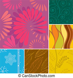 Seamless Season Pattern