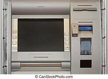 ATM Contactless - Automatd Teller Machine With Chip and...