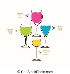 drink info-graphics design - creative food and beverage...