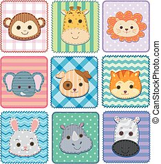 Animal Pattern Patches