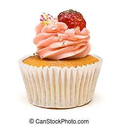 Luxury Cup Cake - Luxury Strawberry Cup Cake from low...