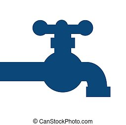 tap water isolated icon design, vector illustration  graphic