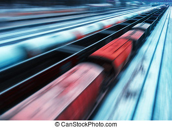 Passing train abstraction