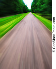 Vertical road speed rush abstraction