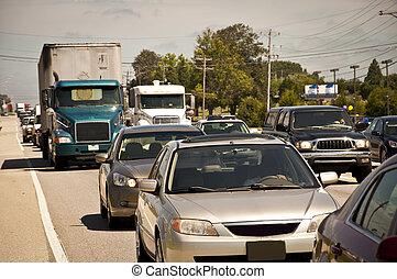 Rush Hour Traffic Jam