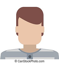 jail inmate icon - flat design jail inmate icon vector...