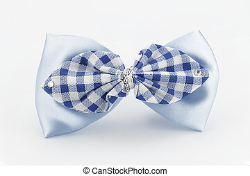 hair bow on white back ground