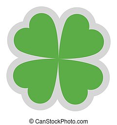 lucky shamrock icon