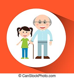 people human person - members of the family design, vector...