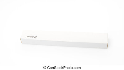 Toothbrush travelling set on white background - Toothbrush...