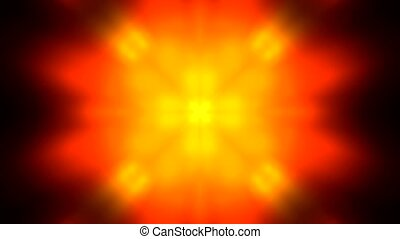Bright glow light,red flashing flower pattern