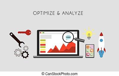 Optimize & Analize.eps - Web Optimization - Optimize and...