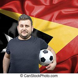 Proud football fan of East Timor