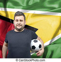 Proud football fan of Guyana