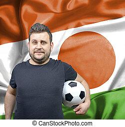 Proud football fan of Niger