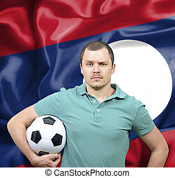 Proud football fan of Laos