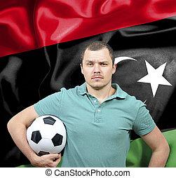 Proud football fan of Libya