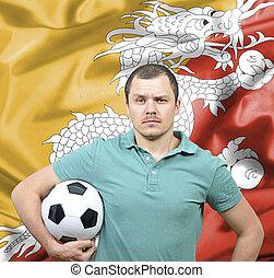 Proud football fan of Bhutan