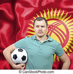 Proud football fan of Kyrgyzstan