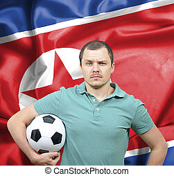 Proud football fan of North Korea