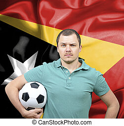 Proud football fan of East Timor